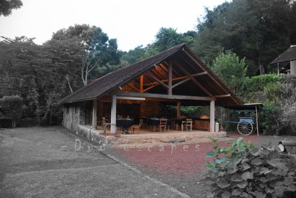 Living Heritage Koslanda, Restaurant Building
