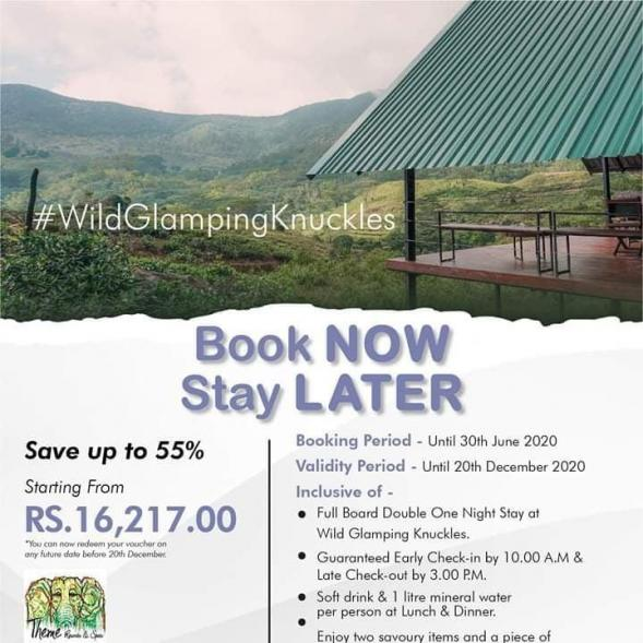 Theme Resorts - Wild Glamping Knuckles
